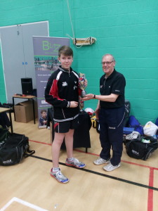 Kieran Blitz Cadet winner Jan 24 2016