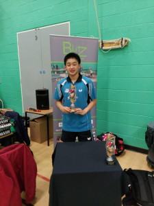 Sam Kwan Blitz Junior boys winner 24 Jan 2016