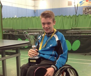 Andrew Green s Nat Jun Wheelchair Singles Champ 2016