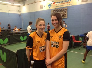 Shannon and Amy Hull P4Sport 19 March 2016
