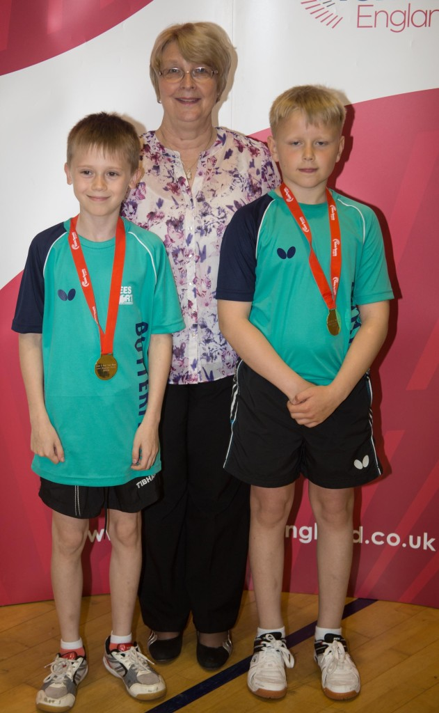 Tommy Hawkes and Leo Under 11 boys 2016