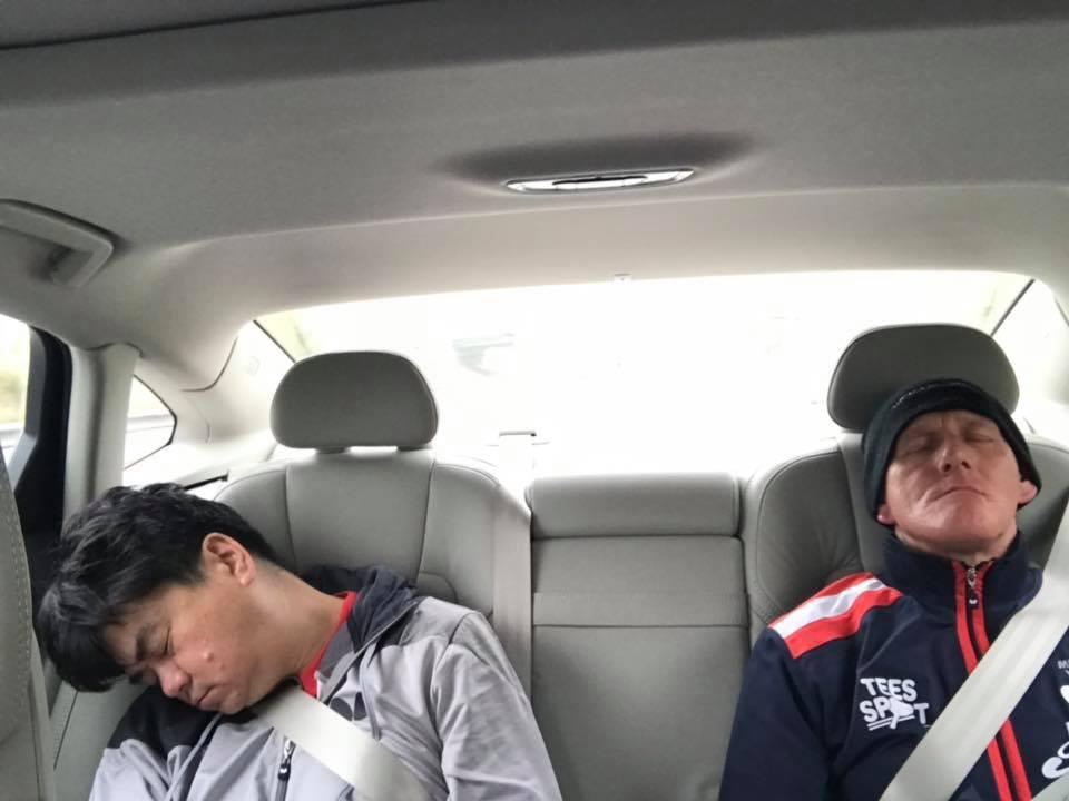 BVL1 Jevon and Mick Sleeping
