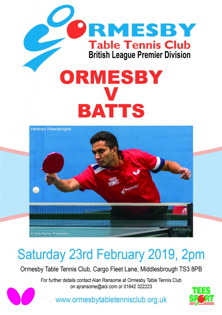 Ormesby v Batts 23 February 2019