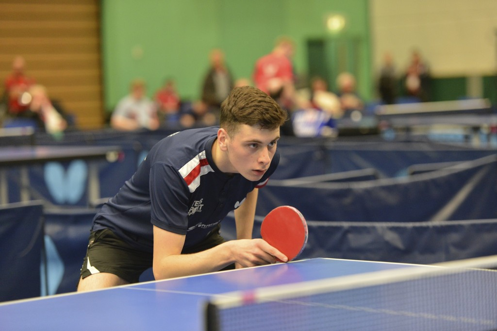 Table Tennis England Junior National Championships Nottingham University 2019