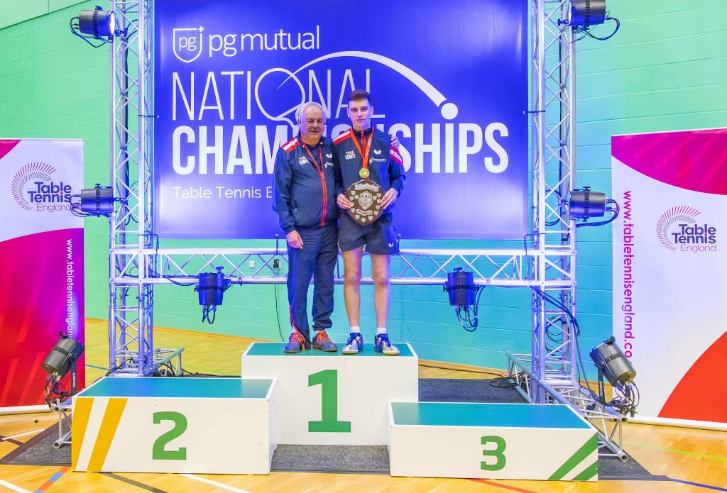Tom Rayner with Denis Neale Nat Champion 2019